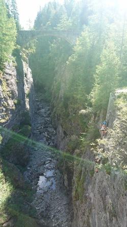 the Mauvoisin Gorge