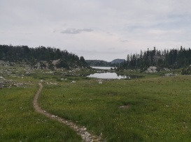 Perfect trails around perfect lakes